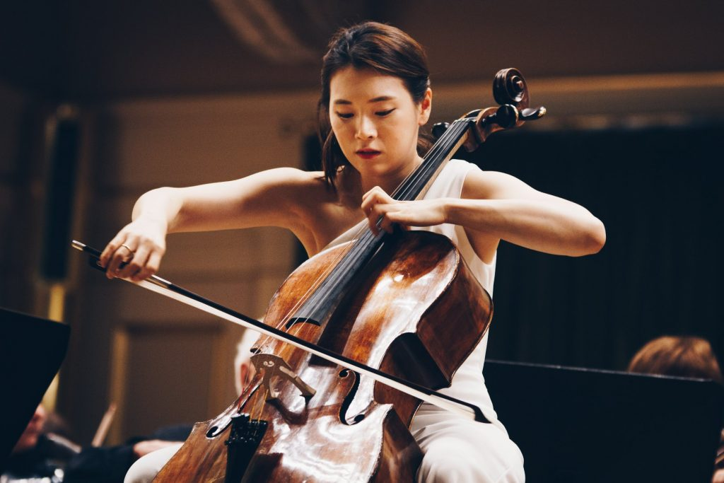 Jihokorejská cellistka Yoosin Park na Mezinárodní soutěži Leoše Janáčka