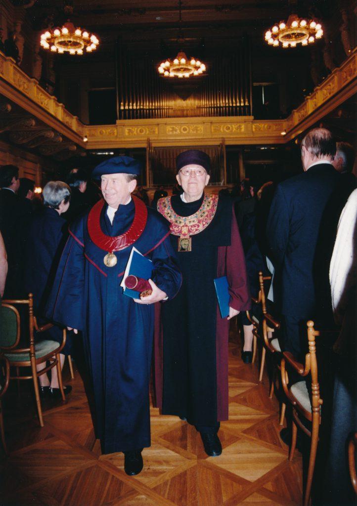 Václav Havel, Alois Hajda